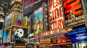 See a Broadway Show